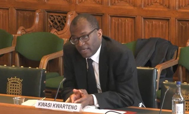 Business Secretary Kwasi Kwarteng, giving evidence to the Business, Energy and Industrial Strategy Committee in the House of Commons, where he warned there is a danger  Liberty Steel could be forced to close some of its UK plants following the collapse of its main financial backer.