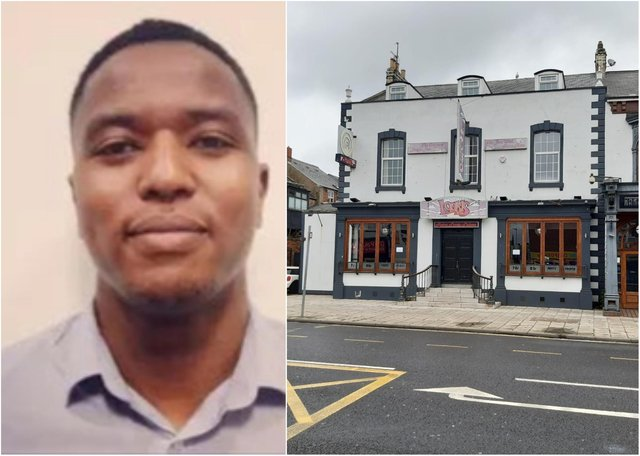 Missing Hartlepool man Gabriel Kariuki was last seen near Loons bar, in Victoria Road, Hartlepool, in the early hours of May 18.
