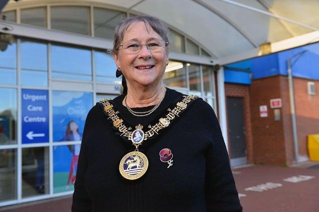 Mayor of Hartlepool Councillor Brenda Loynes. Picture by FRANK REID