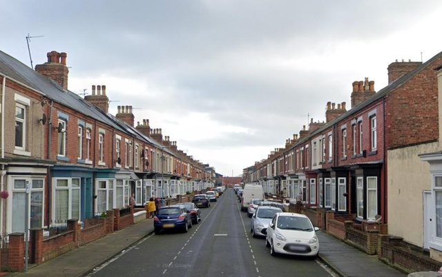 Police searched a house in Carlton Street in Hartlepool as part of Operation Endeavour. Image copyright Google.