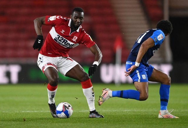 Middlesbrough winger Yannick Bolasie.