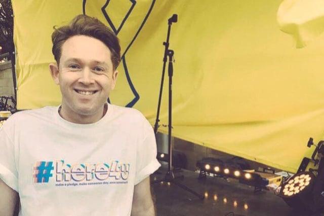 DJ and Here4U mental health campaign founder Dan Westwood.