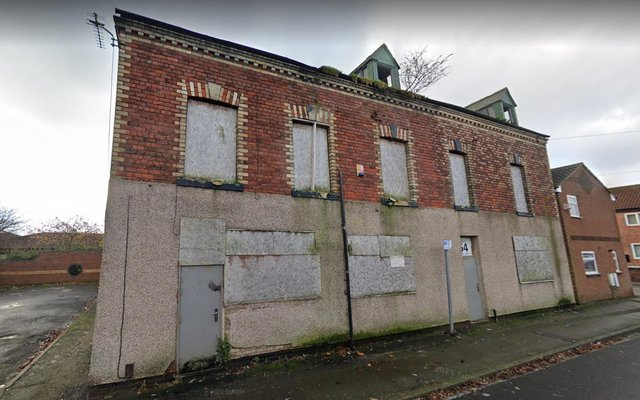 The site in Lister Street, Hartlepool, which is to be transformed into a DIY bathroom and tile shop.