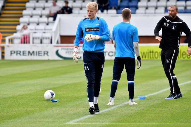 Brad Young at Hartlepool United (photo: Frank Reid)