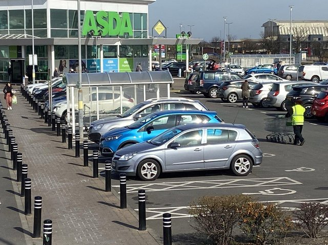 Asda, in Marina Way, Hartlepool, is aiming to improve its click and collect service for customers.