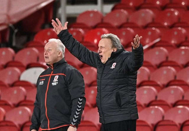 Neil Warnock and Kevin Blackwell.
