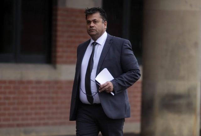 Matt Matharu appearing at an earlier court hearing.