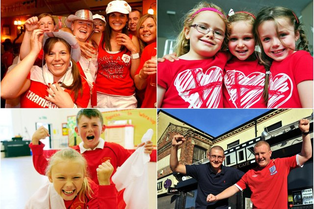 Roaring the team on in Hartlepool and East Durham. Are you pictured?