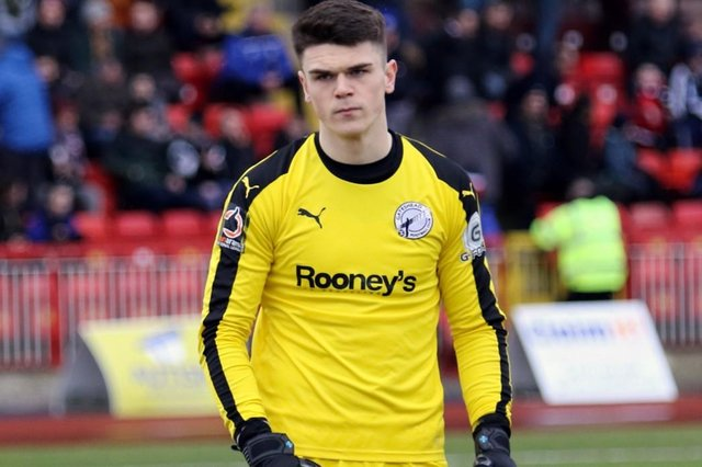 Brad James has joined Hartlepool United on loan until the end of the season (photo: Charlie Waugh).