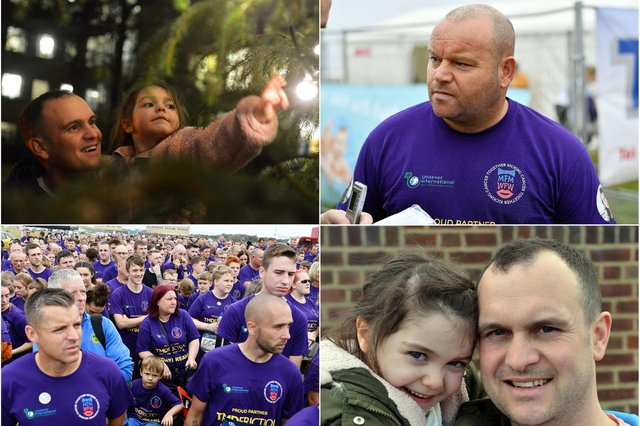 Two charities - Miles for Men and Lyla and Lilley's Stars - have joined forces.