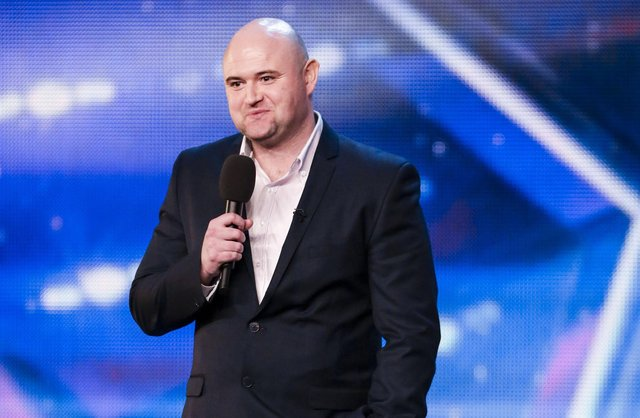 Danny Posthill shot to fame on Britain's Got Talent.