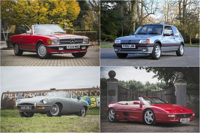 The classic cars to watch in 2021