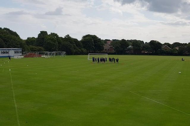 East Durham College, Hartlepool United's training ground.
