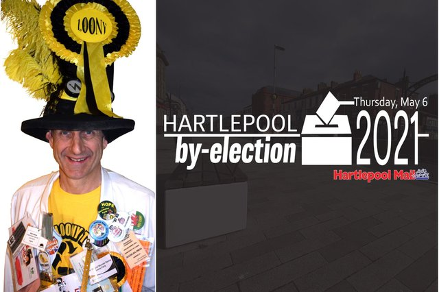 """Nick """"The Incredible Flying Brick"""" Delves plans to stand in the Hartlepool Parliamentary by-election."""
