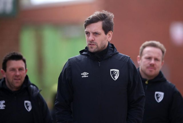 Jonathan Woodgate, Caretaker Manager of AFC Bournemouth. (Photo by Alex Pantling/Getty Images)