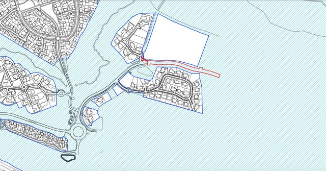 Plans for the Northern Spine Road in the Wynyard Park Estate