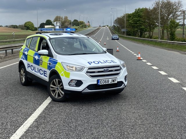 Cleveland Police closed off the A19 following the collision