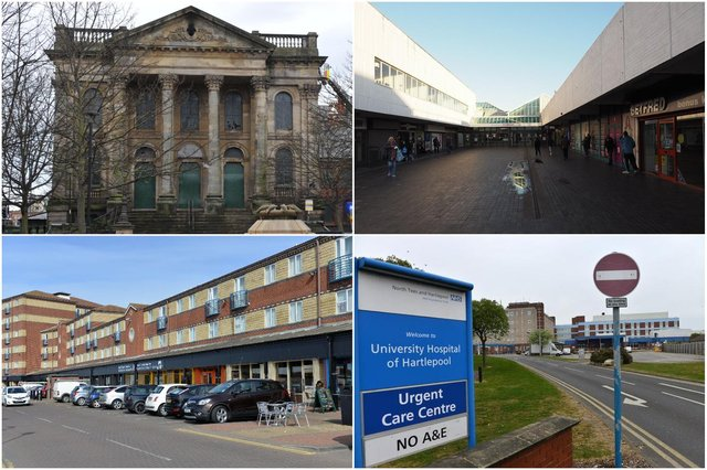 The Hartlepool Town Investment Plan includes proposals for the Wesley, Middleton Grange shopping centre, marina and a new training academy at Hartlepool hospital.