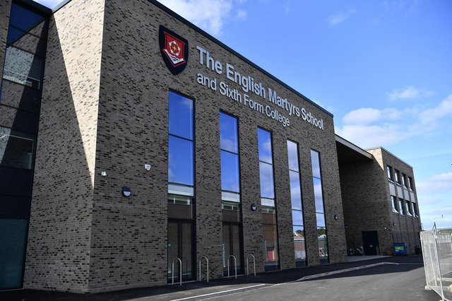The English Martyrs School & Sixth Form College new build. Picture by FRANK REID