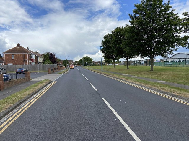 Liam Lee failed to stop for police on Brierton Lane, Hartlepool.