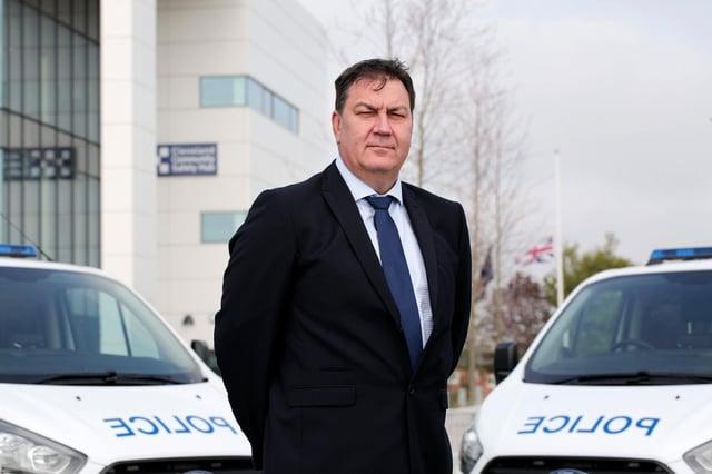 Cleveland Police and Crime Commissioner Steve Turner.