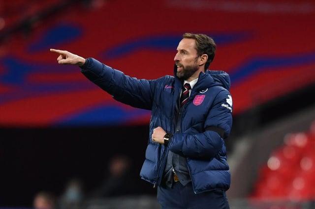 England manager Gareth Southgate.