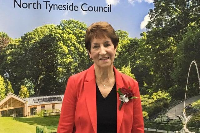 North Tyneside Elected Mayor Norma Redfearn.