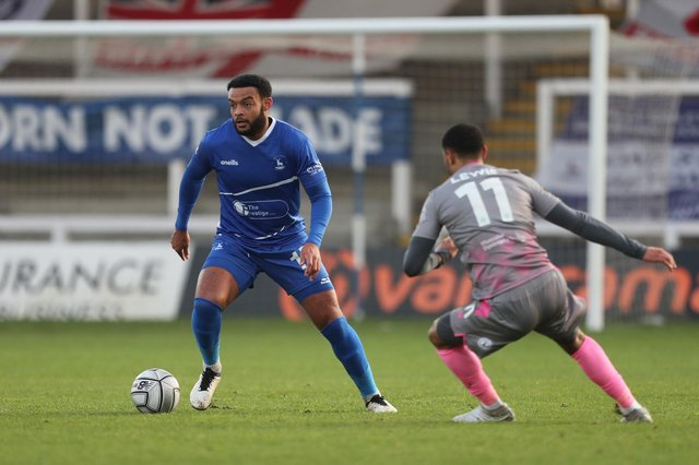 Ryan Johnson could come back in contention for Hartlepool United tonight. (Credit: Mark Fletcher | MI News)