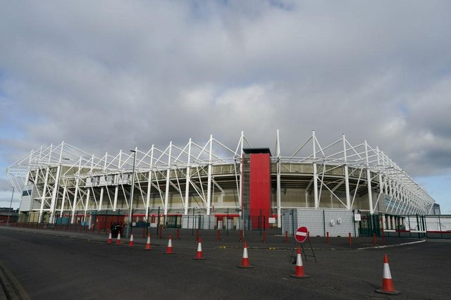 Middlesbrough's Riverside Stadium.