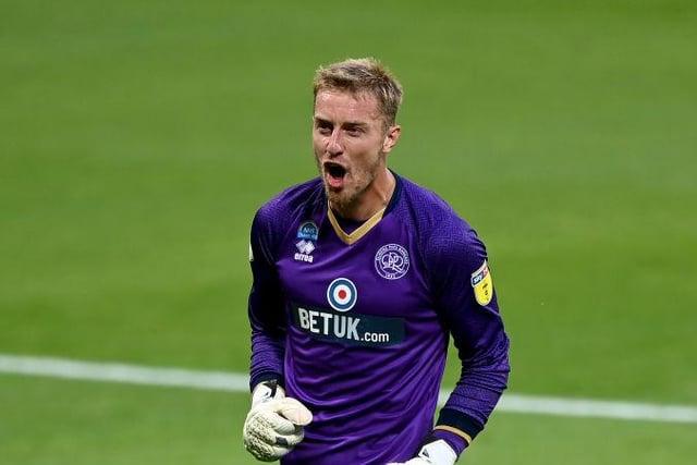 QPR goalkeeper Joe Lumley.