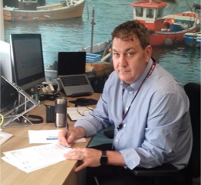 Police and Crime Commissioner Steve Turner