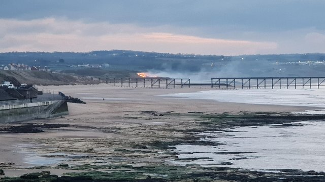Cleveland Fire Brigade were called to the incident at 6.30 on Tuesday evening (March 23) / Photo: Barry Hodge
