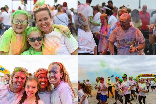 Events don't come any more colourful than this one - but are you pictured?