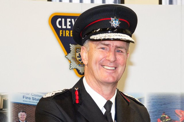 Ian Hayton, chief fire officer at Cleveland Fire Brigade