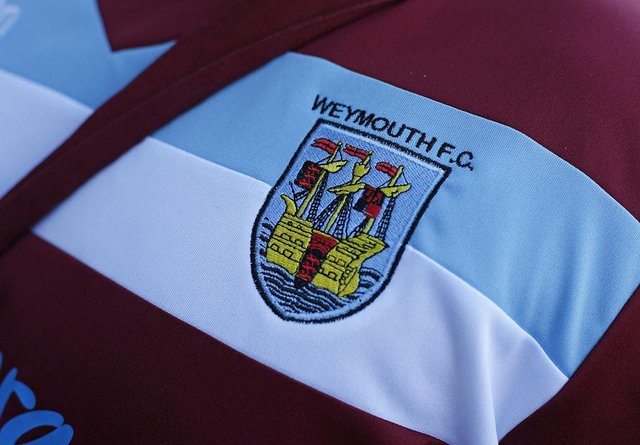 Weymouth FC badge.  (Photo by Steve Bardens/Getty Images)