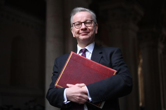Michael Gove says the government wants to see 'intimate contact' restored (Photo by Leon Neal/Getty Images)
