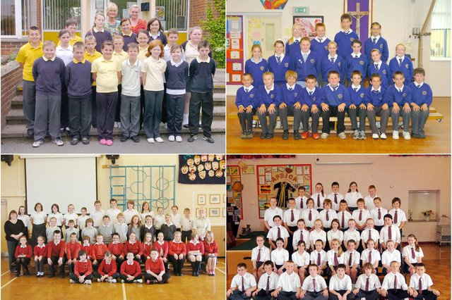 School leavers day for all these Hartlepool children.