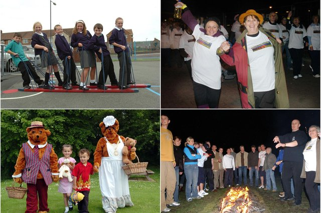 Have a look and see if you can spot a familiar face in these photos which have a walking theme.