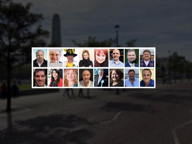 The 16 candidates standing in the upcoming Hartlepool by-election.