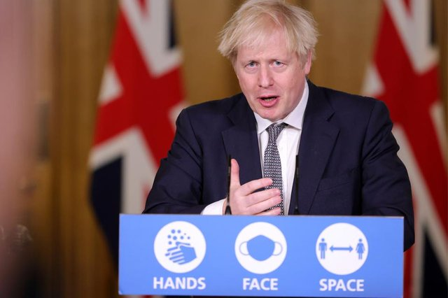 Boris Johnson will address the nation in a press conference at 5pm.