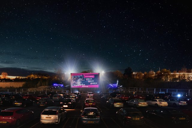 A Nightflix picture of one of its outdoor cinemas.