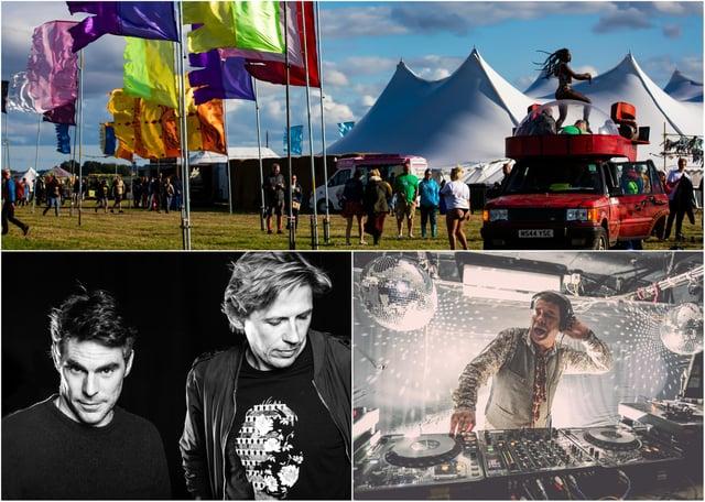Lindisfarne Festival.