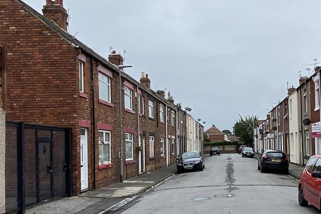 """The police raid took place in Melrose Street, Hartlepool, following reports of a """"burglary in progress""""."""