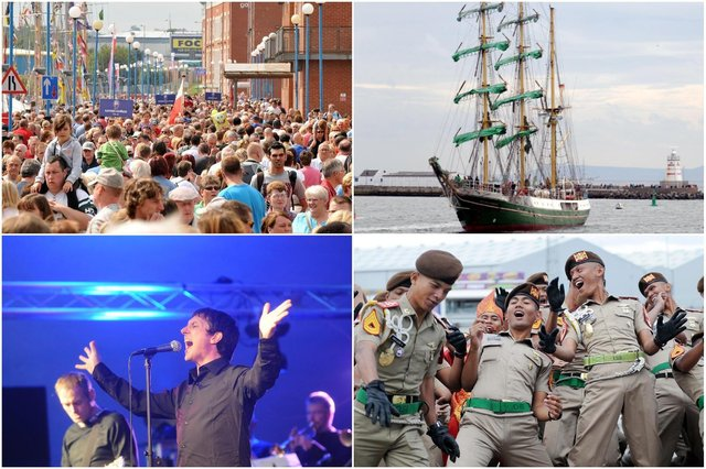 Just some of the memories from the Hartlepool Tall Ships Races in 2010.