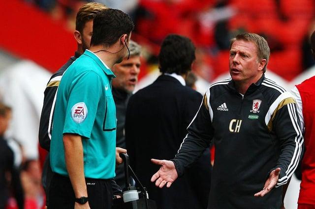 Craig Hignett was Middlesbrough's assistant in 2014.