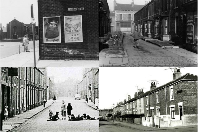 Nine photos which show just how much the town has changed over the years.