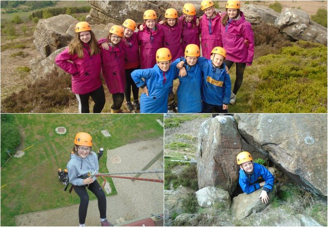 Clavering Primary School pupils enjoyed an adventurous day out.