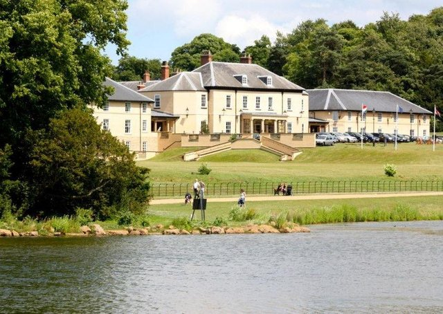 The collision occurred close to the Hardwick Hall Hotel