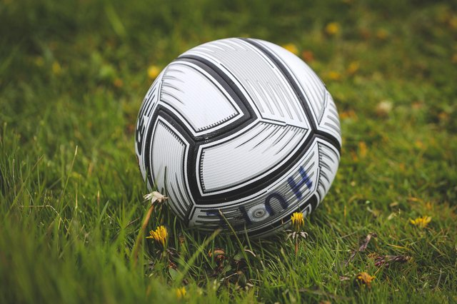 A general view of a match ball during the Vanarama National League match between Hartlepool United and Maidenhead United at Victoria Park, Hartlepool on Saturday 8th May 2021. (Credit: Mark Fletcher | MI News)