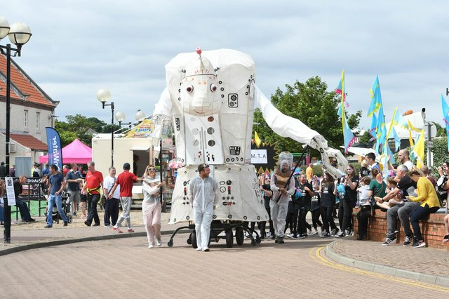 Hartlepool Waterfront Festival is one of the biggest public events in the town's calendar.